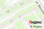 Схема проезда до компании Кот Баюн в Нижнем Новгороде