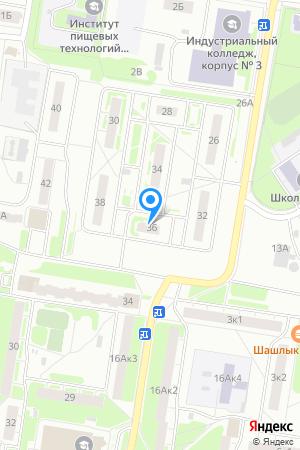 Дом 36 по ул. Спутника, ЖК Спутник на Яндекс.Картах
