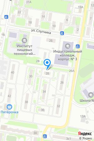 Дом 28 по ул. Спутника, ЖК Спутник на Яндекс.Картах