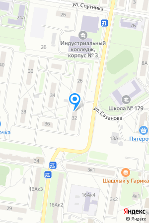 Дом 32 по ул. Спутника, ЖК Спутник на Яндекс.Картах