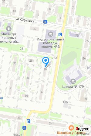 Дом 26 по ул. Спутника, ЖК Спутник на Яндекс.Картах