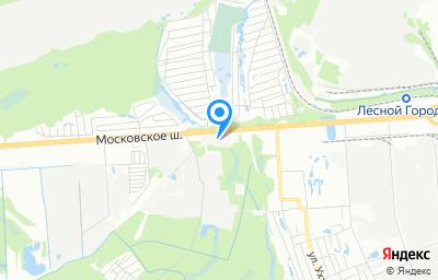 Местоположение на карте пункта техосмотра по адресу г Нижний Новгород, ш Московское, д 298