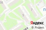 Схема проезда до компании ЖСК №165 в Нижнем Новгороде