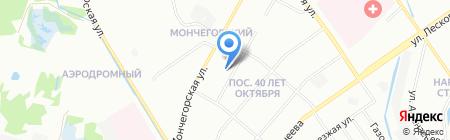 Детский сад №87 на карте Нижнего Новгорода