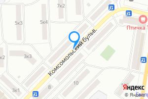Двухкомнатная квартира в Арзамасе Нижегородская область, Комсомольский бульвар