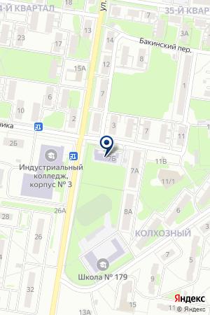 ДЕТСКИЙ САД № 63 на карте Нижнего Новгорода