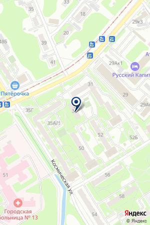 АТС-94/1 на карте Нижнего Новгорода