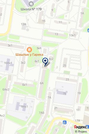Селена на карте Нижнего Новгорода
