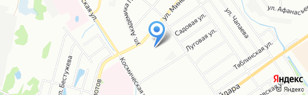 Апельсиновый слон на карте Нижнего Новгорода