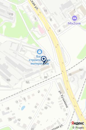 ТФ ПИРАМИДА на карте Нижнего Новгорода