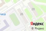 Схема проезда до компании IСервис в Нижнем Новгороде