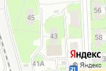 Схема проезда до компании Участок по доставке пенсий и пособий Московского района в Нижнем Новгороде