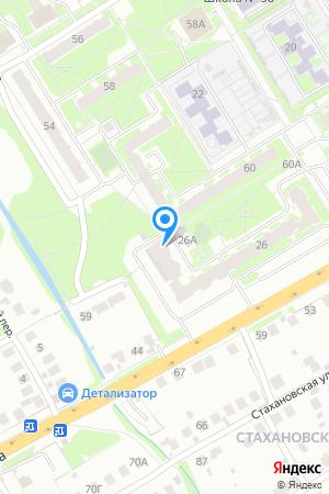 Дом 26 по ул. Гайдара на Яндекс.Картах