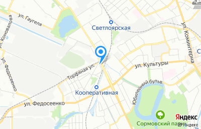 Местоположение на карте пункта техосмотра по адресу г Нижний Новгород, ул Кузьмина, д 1А
