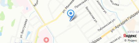 ВОЛГА-ЭЛЕКТРО на карте Нижнего Новгорода