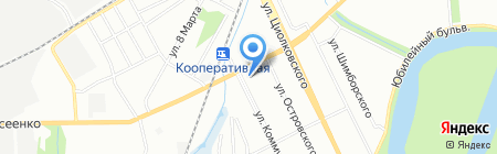 Охранно-пожарные системы на карте Нижнего Новгорода