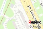 Схема проезда до компании Flower в Нижнем Новгороде