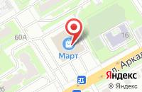 Схема проезда до компании Мебельный магазин в Нижнем Новгороде