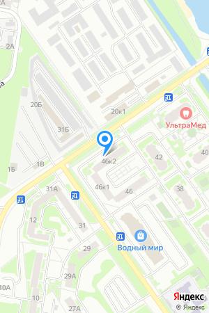 Дом 46 корп.2 по ул. Янки Купалы, ЖК Водный мир на Яндекс.Картах