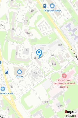 Дом 8 корп.1 по ул. Коломенская, ЖК Мой дом на Коломенской на Яндекс.Картах