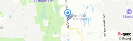 Карен на карте Нижнего Новгорода