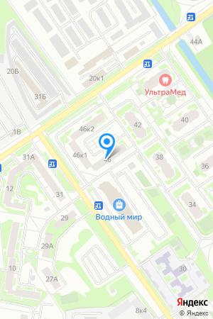 Дом 46 по ул. Янки Купалы, ЖК Водный мир на Яндекс.Картах