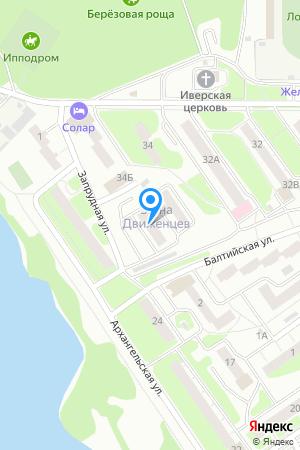 Дом 34 по ул. Движенцев, ЖК 3D Движенцев на Яндекс.Картах
