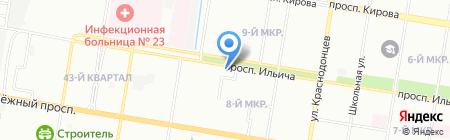 Ладья на карте Нижнего Новгорода