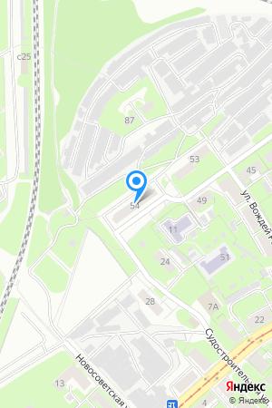 Дом 54 по ул. Римского-Корсакова на Яндекс.Картах