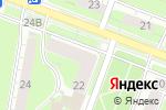 Схема проезда до компании Дымок в Нижнем Новгороде
