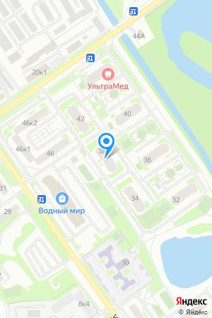 Дом 38 по ул. Янки Купалы, ЖК Водный мир на Яндекс.Картах