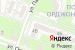 Схема проезда до компании Sushi-star в Нижнем Новгороде
