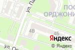 Схема проезда до компании Ап Транс в Нижнем Новгороде