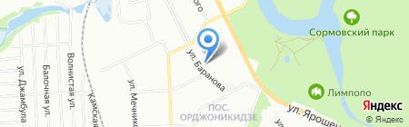 Дом хозтоваров на карте Нижнего Новгорода