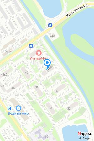 Дом 40 по ул. Янки Купалы, ЖК Водный мир на Яндекс.Картах