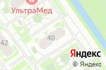 Схема проезда до компании Медисон в Нижнем Новгороде