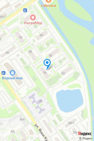 Дом 34 по ул. Янки Купалы, ЖК Водный мир на Яндекс.Картах