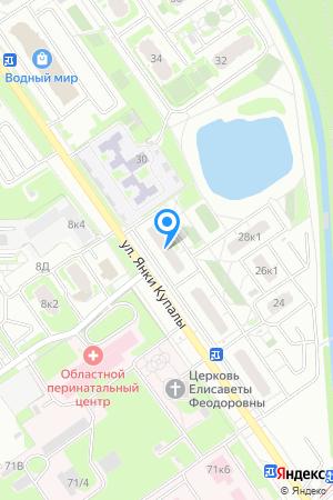 Дом 28 по ул. Янки Купалы, ЖК Водный мир на Яндекс.Картах