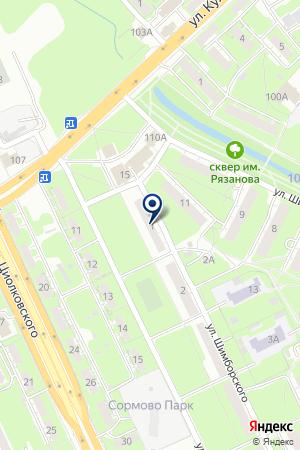 АТЕЛЬЕ КОНТРАСТ на карте Бора