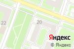 Схема проезда до компании Агро-Белогорье в Нижнем Новгороде