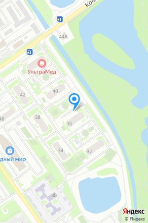 Дом 36 по ул. Янки Купалы, ЖК Водный мир на Яндекс.Картах