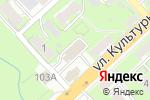 Схема проезда до компании РАТ в Нижнем Новгороде