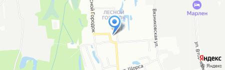 Русский огород на карте Нижнего Новгорода