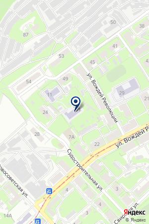 ДЕТСКИЙ КОМБИНАТ № 347 на карте Нижнего Новгорода