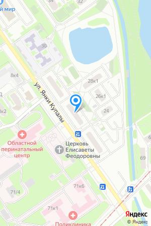 Дом 26 по ул. Янки Купалы, ЖК Водный мир на Яндекс.Картах