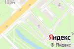 Схема проезда до компании Дент Вест в Нижнем Новгороде