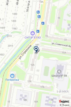 МАСТЕРСКАЯ БЫТОВОЙ ТЕХНИКИ ХОЗЯЮШКА на карте Нижнего Новгорода