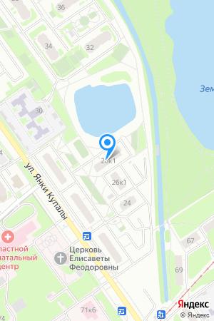 Дом 28 корп.1 по ул. Янки Купалы, ЖК Водный мир на Яндекс.Картах