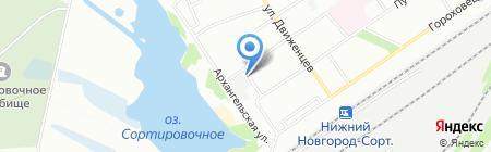 12 кружек на карте Нижнего Новгорода