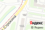 Схема проезда до компании Фрегат в Нижнем Новгороде